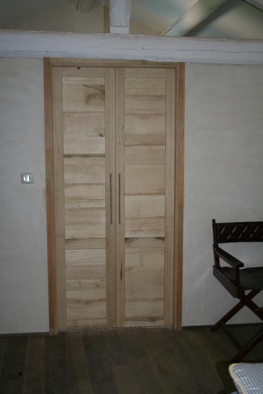 Porte bois int rieure sur mesure paca gard vaucluse Porte interieure sur mesure pas cher