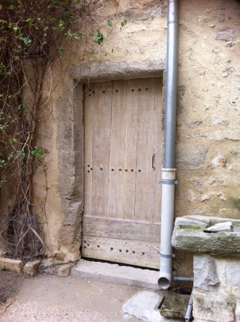 Porte bois fen tres bois volets bois luberon alpilles for Porte cave bois