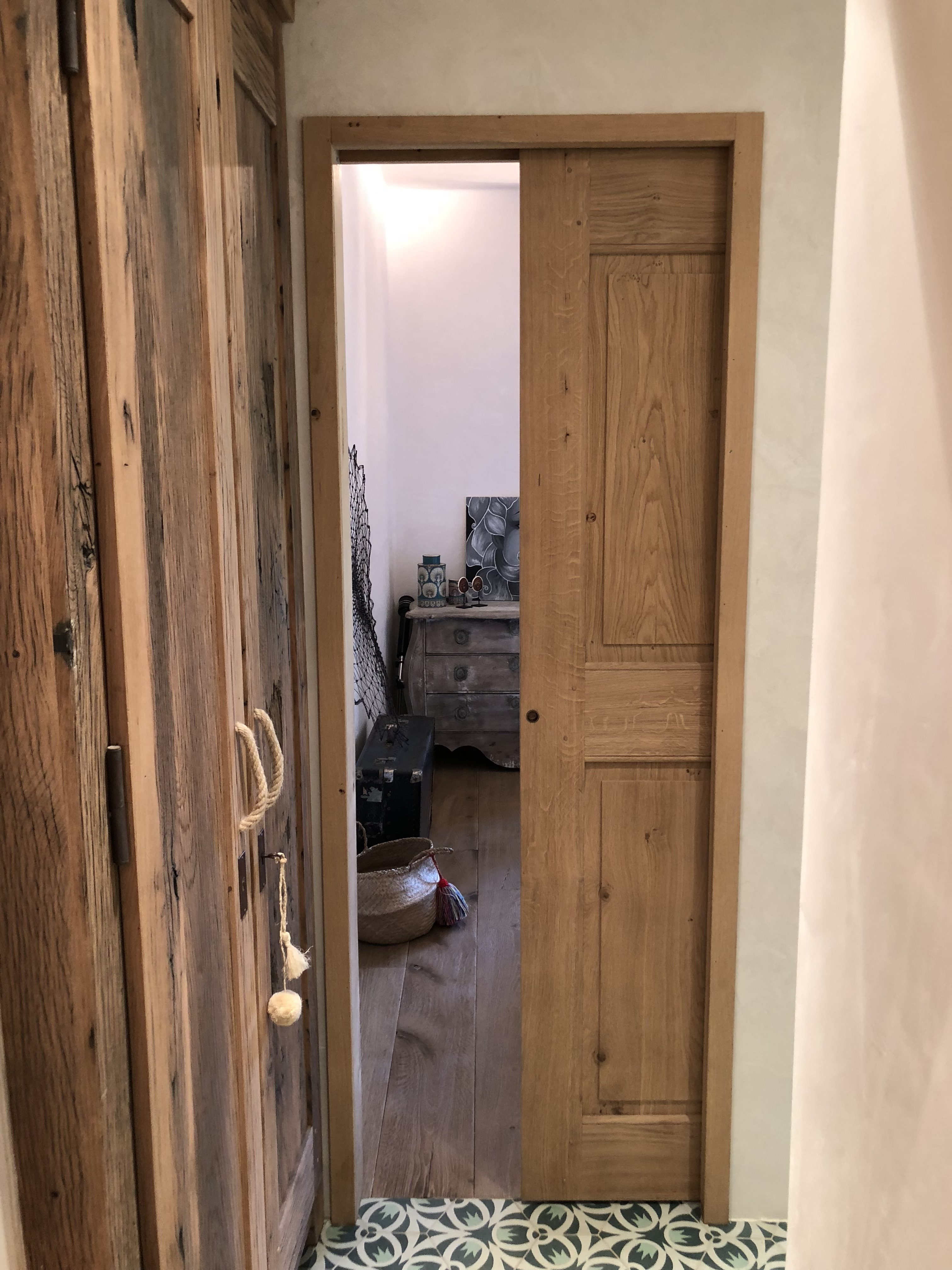 Portes Coulissantes Vitrées Intérieures porte bois intérieure, sur mesure, paca, gard, vaucluse
